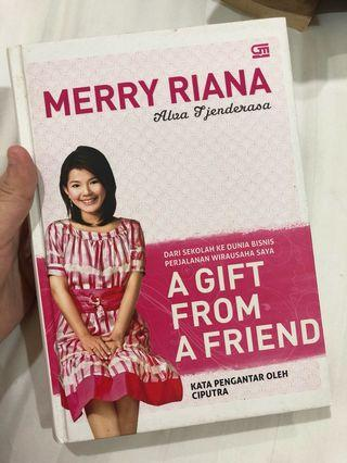 Novel Indonesia MERRY RIANA A GIFT FROM A FRIEND