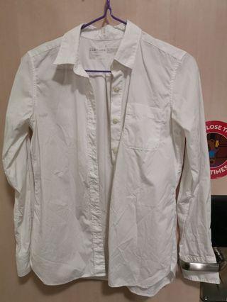 MUJI formal suit white shirt