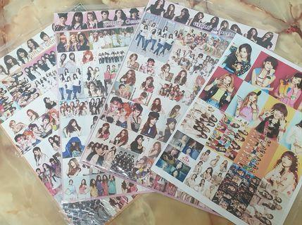 SNSD sticker set (Girls Generation)