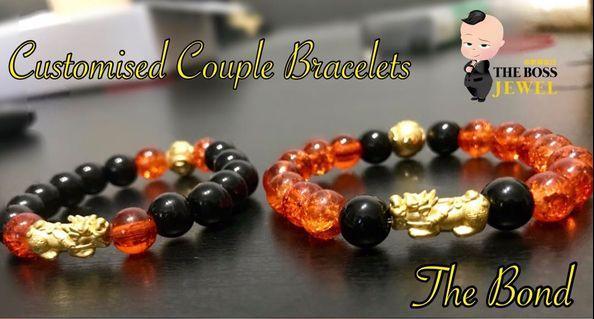 🚚 Customised 999 Gold Bonding Bracelets