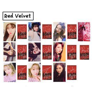 Gfriend, Red Velvet, TWICE &IZONE IZ*ONE lomo cards
