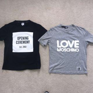 Tshirt bundle Moschino & Opening Ceremony