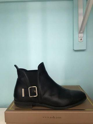 Browns Couture Black Leather Boots