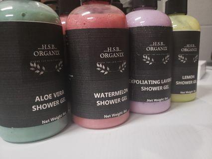 Handmade shower Gel