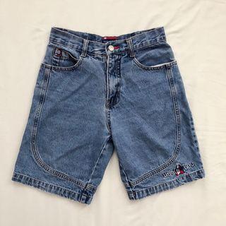 Bugle Boy Long Denim Shorts