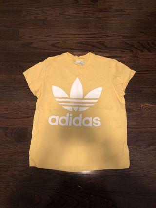 Adidas Yellow Tshirt