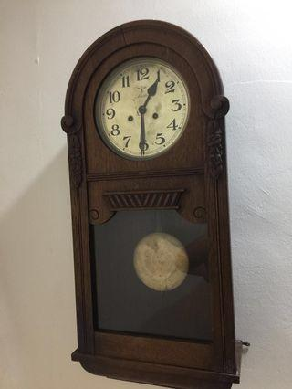 Antique Clock Mauthe from Germany