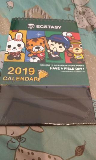 🚚 象鼻人2019年曆