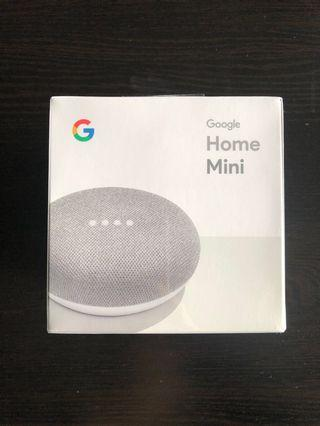 Google Home Mini in package