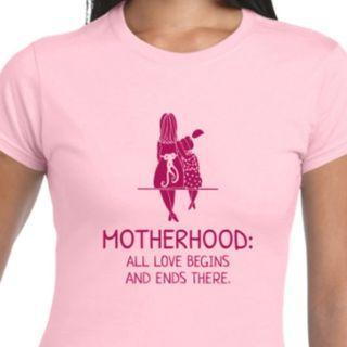 Motherhood Ladies Premium Cotton Tee