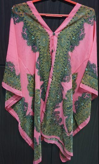 New silk Kaftan 2 in 1 top (Urgently selling)