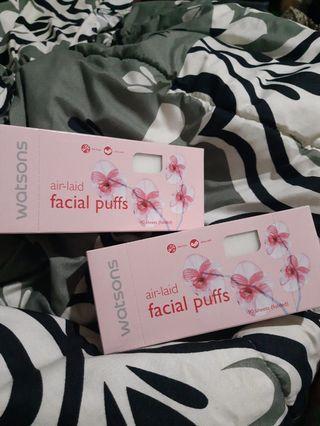 Facial Puffs air-laid