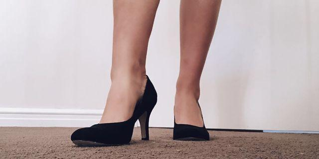 Betts Black High Heels