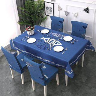 Tablecloth with cover chair 3 size