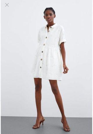 BNWT Zara Embroidery dress