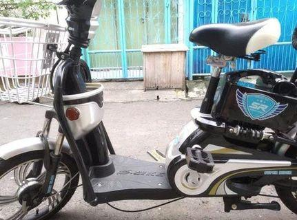 #BAPAU sepeda listrik super rider