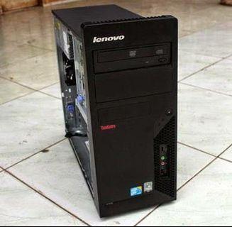 #BAPAU PC Lenovo murah second