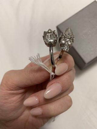 Alexander McQueen Skull Ring RRP $400