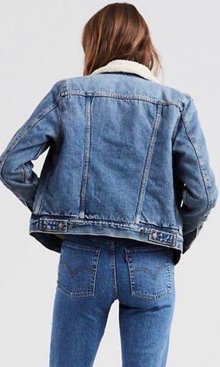 Levi's Original Sherpa Denim Jacket