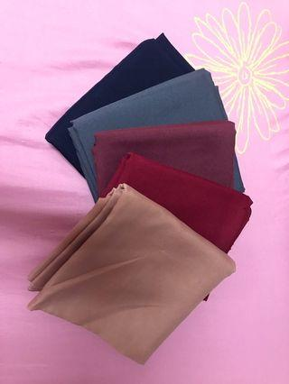 Bawal Crepe 5 for RM5🔥
