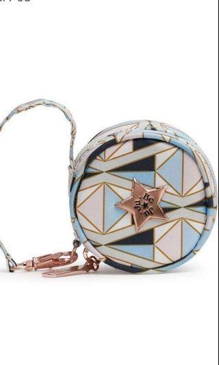 BNIP JUJUBE ROSE GOLD Pacipod - Pink Coloured Glass