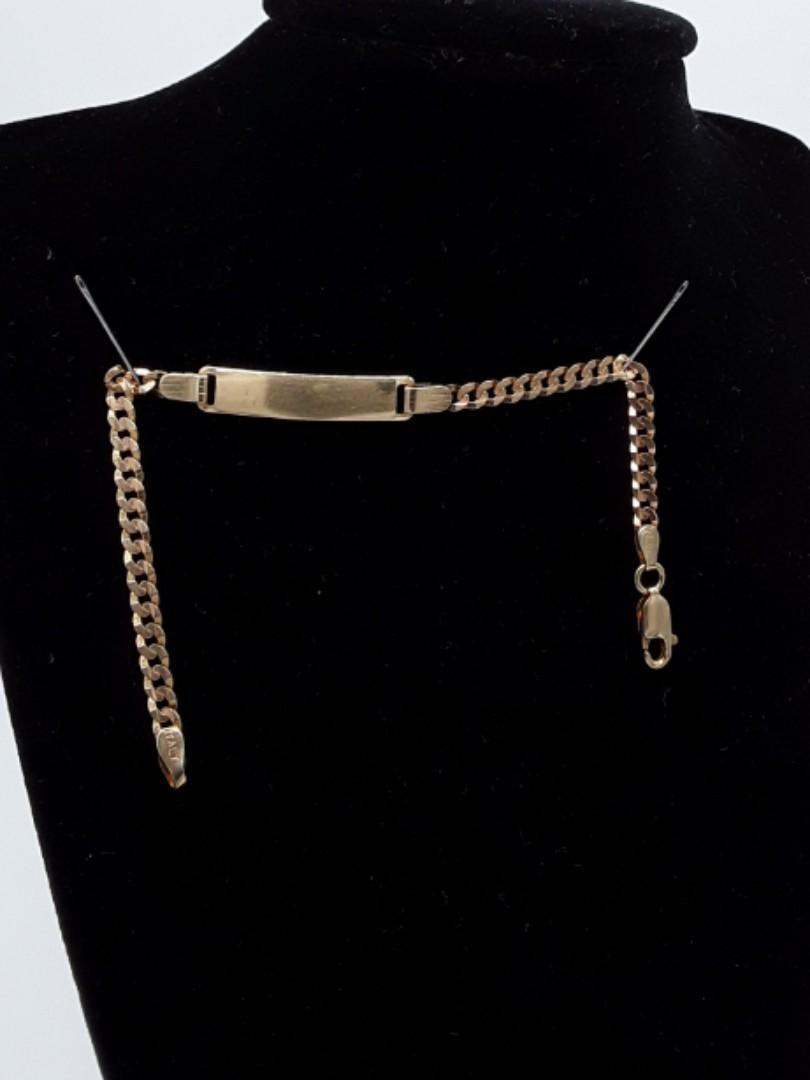 0678#14k bracelet