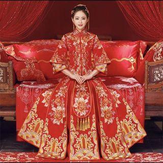 🚚 新娘中式禮服