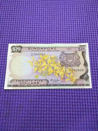 🚚 Orchid Series old $25 notes