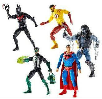 Dc multiverse universe lobo wave full set superman batman beyond kid flash green lantern RAYA OFFER