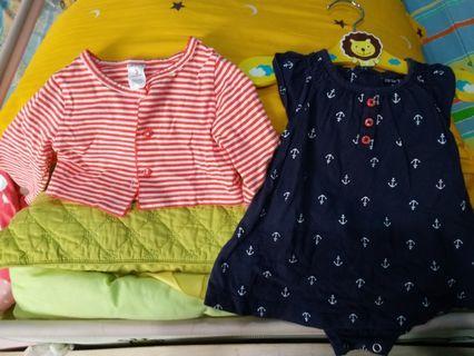 Carter's 2 pcs dress Ori