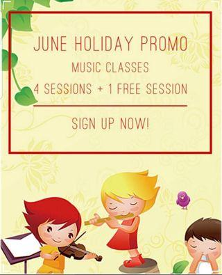 🚚 June holiday music programme