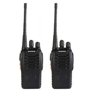 Walkie Talkies (2 of them. Add $3 for 2 earpieces)