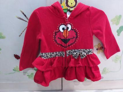 Jacket Hoddies Sesame Street Ori