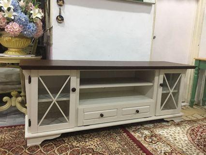 TV Cabinet kayu solid
