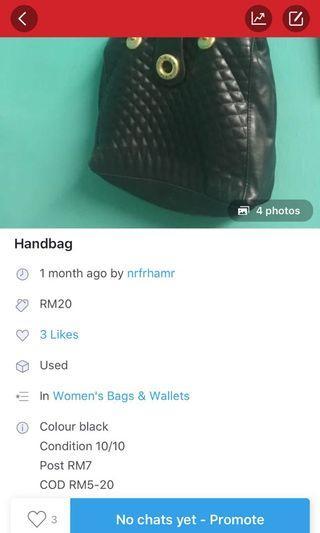 #GayaRaya #sale Handbag 50% off