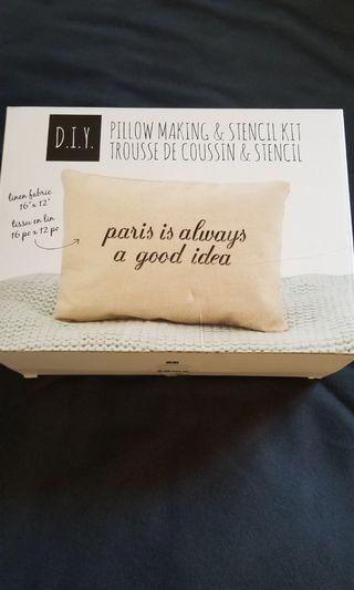 DIY Pillow Making