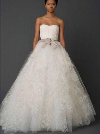 Vera Wang wedding dress 婚紗