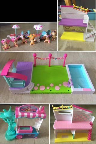 Twozies Neon Baby & Shopkins Toy