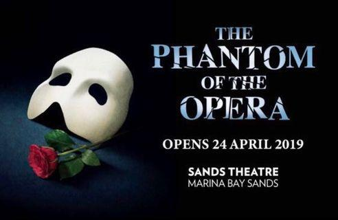 🚚 The Phantom of The Opera 18/5/19 8pm Good seats