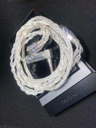 發燒級 PAudio 純銀 8絞 Mmcx 配 3.5彎