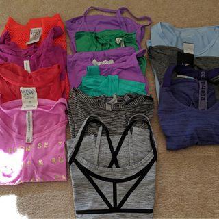 Lorna Jane Nike Adidas size xs tops bundle