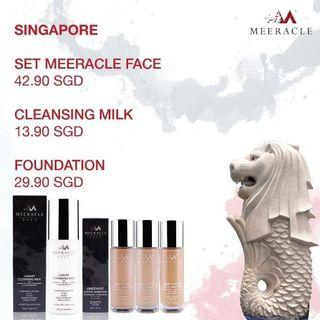 Foundation or Cleansing Milk