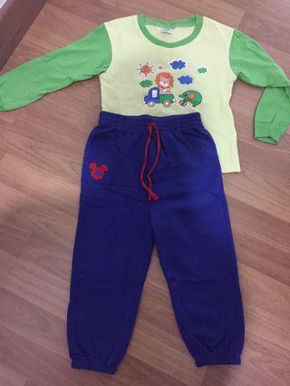 Kids Pyjamas Pureen and Disney Baby