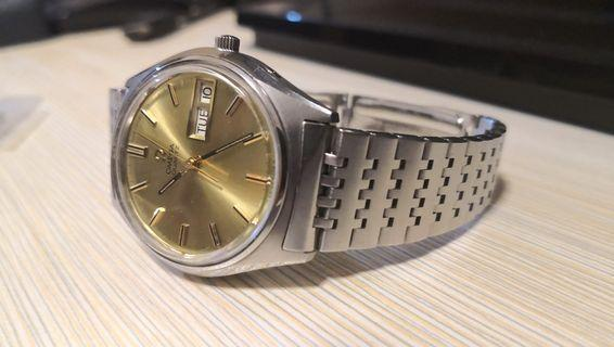 Omega Quartz Day Date 196.0065 Caliber 1310 Vintage 歐米茄
