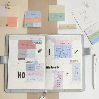 Memo Pad with divider