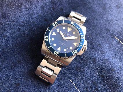 Blue Helson Shark Diver 40