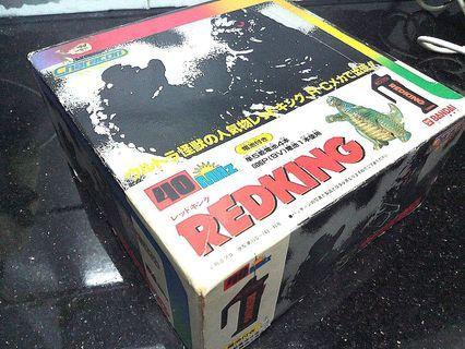 (正版) 八九十年代BANDAI日本超人 怪獸レッドキング red king(懷舊玩具