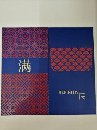 Refinitiv (1pc blue & 1pc red)