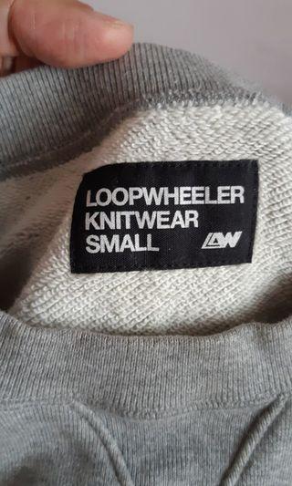 genuine made in Japan LOOPWHEELER MONOCLE