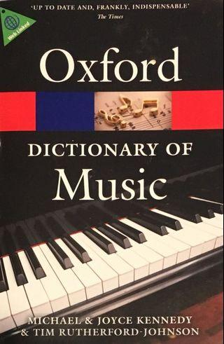 Oxford Dictionary of Music